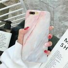 For i Phone 7 6 6S 8 Plus Xs Fashion Soft TPU Back Shell Marble Phone Case Cover
