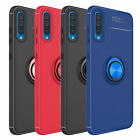 For Samsung Galaxy A50 A30 A20 Shockproof Slim Case Cover With Ring Holder Stand $10.37 USD on eBay