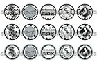 "MLB Chicago White Sox PRE CUTS or DIGITAL SHEET 1"" Circle Bottle Caps on Ebay"