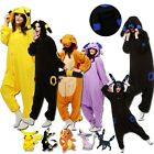 2019 Pokemon Kigurumi UNISEX Donna Maschio Animal Pajamas Cosplay Costume CC