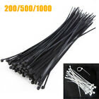 200/500/1000Pcs 3x2000mm 8'' Self-locking Plastic Nylon Cable Ties Wire Zip Tie for sale  Shipping to Canada