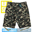 Original Deluxe Men's NWT 6-Pocket Green Camo 100% Cotton Cargo Shorts size 32