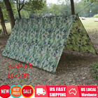 Waterproof Lightweight Camping Tent Tarp Shelter Hammock Rain Fly Cover 2 Sizes