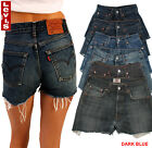 Levis 501 Womens Vintage High Waisted Hotpants Denim Shorts Grade A 6 to 16 <br/> TOP CUSTOMER SERVICE, 100% GENUINE