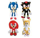 "8"" Sonic The Hedgehog Shadow Tails Knuckles Plush Stuffed Toy Gift Authentic USA"