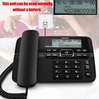 PHILIPS Corded Telephone Desktop Phone Caller ID Home Office Call Answer Machine