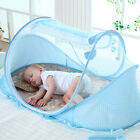 Folding Children Baby Crib Bed Curtain Canopy Anti Mosquito Net Tent Room NEW image