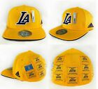 Los Angeles Lakers Fitted NBA Flat Brim 16X Champions Cap Hat Adult By Adidas on eBay