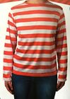 Adults Teenagers Red White Strip Top Book Week Costume T-Shirt  School Party