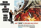 James Bond 007 From Russia With Love 60s Film Canvas Wall Art Movie Poster Print £35.0 GBP on eBay