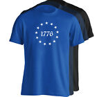 Betsy Ross 13 Star Original USA American Flag T-Shirt - Sizes S-5XL - 4 Colors image