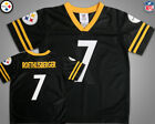 Pittsburgh Steelers #7 Roethlisberger Jersey NFL Youth sz M(7-8)/L(12/14) New on eBay