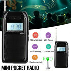 Portable Digital World Full Band Radio Receiver FM MW SW DAB Radio+MP3 Player