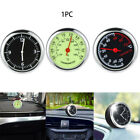Universal Pointer Quartz Auto Clock Car Thermometer Watch Dashboard Meter