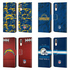 OFFICIAL NFL 2018/19 LOS ANGELES CHARGERS LEATHER BOOK CASE FOR HUAWEI PHONES $14.95 USD on eBay