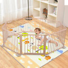 Kyпить Baby Playpen Foldable Wooden  Indoor&Outdoor Frame Kids Play Center Yard на еВаy.соm