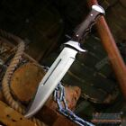 15 FULL TANG FIXED BLADE SURVIVAL FISHING HUNTING CAMPING BOWIE KNIFE