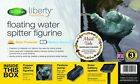 Blagdon Liberty Water Feature Spitter Mains Free Solar Powered Vole Hedgehog