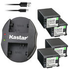 Kastar Battery Dual Charger for Canon BP-820 BP-828 & Canon VIXIA XA35 Camera