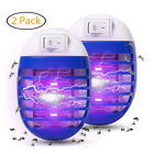 Electric Electronic Insect Fly Mosquito/Bug Killer Trap Zapper UV LED Light Lamp photo