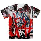 NYC Graffiti All Over Print, Double Sided T-Shirt