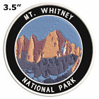 Mt. Whitney Embroidered Patch Iron-On / Sew-On Explore National Parks Applique