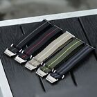 B & R Bands Military Elastic Parachute Style Watch Bands Straps 20mm 22mm  image