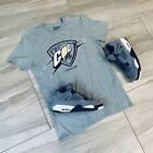 Tee to match Jordan Retro 4 Cool Grey. Thunder God Tee