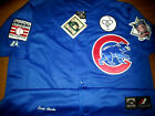 Brand New Chicago Cubs HOF #14 Ernie Banks w/3patch sewn Majestic Jersey bryant on Ebay