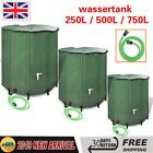 Collapsible Garden Water Tank Watering Connector Foldable Storage Barrel Tank