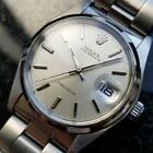 Rolex Vintage Oysterdate Precision 6694 Manual 1977 Mens Stainless Watch MA40 image