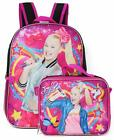 Jojo Siwa School Backpack With Lunch Box 2 Piece Set