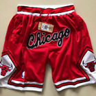 Chicago Bulls NBA Basketball Shorts Men's Pants NWT Stitched on eBay
