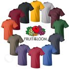 Fruit of the loom Men's HD Cotton Plain Crew Neck Short Sleeves T-Shirt 3930R image