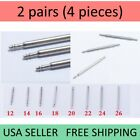 4 PCS Spring Bar Pins For Attaching Watch Band Strap Watchband Stainless SteelTools & Repair Kits - 117039