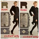 RUSK SALON CLIENT WRAP COVER - TWO COLOR OPTIONS TO CHOOSE FROM