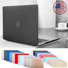 For 2019 MacBook Pro 13.3 A2159 Rubberized Hard Shell Case Keyboard Cover Matte