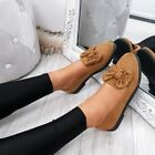 WOMENS LADIES BOW BALLERINA PUMPS FLATS SLIP ON BALLET CASUAL WORK SHOES SIZE