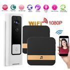 1080P HD WiFi Wireless Smart Doorbell IR-CUT Security Camera Video Intercom