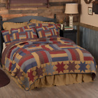 Kindred STARS & BARS (Queen) FARMHOUSE QUILT SET-Country Americana - You Choose  image