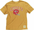 Kansas City Chiefs Button Hook Slim Fit Retro T Shirt By Reebok on eBay