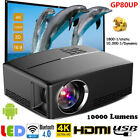 10000 Lumens 4K 3D WiFi BT Android LED Projector Multimedia Home Cinema Theater