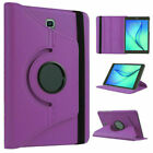 "360° Rotating Folio Leather Stand Case Cover For Samsung Galaxy Tab A 7"" 8""10.1"""