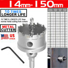 14-150mm TCT Carbide Hole Saw Metal Cutter For HSS Metal Wood Alloy Cutting US