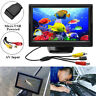 "Mini TFT LCD 5"" CCTV Monitor HD 800*480 Display Screen USB Powered AV Input New"