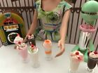 Miniature Milkshake or Parfait Ice Cream Barbie Doll Size 1:6 Scale Playscale