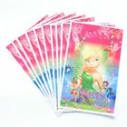 Tinkerbell Fairies Birthday Party Supplies Loot Bag Filler Tableware Cup Balloon