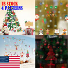 Decal Sticker For Christmas Holiday Decoration Living Room Bedroom Windows