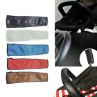 Baby Pram Handle PU Leather Pushchair Stroller Armrest Case Protective Cover