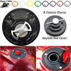 Fuel Gas Tank Cap Cover Aluminum Keyless For MV Agusta 910 Brutale 2006-2009